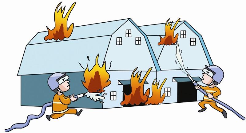 初期火灾扑救方法